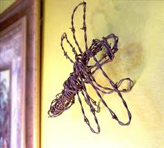 dragonfly sculptures