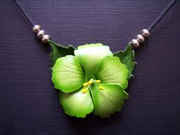 hibiscus necklaces