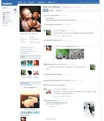 face book layout