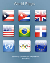free flags of the world