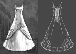 sketches of dress designs