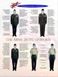 army jrotc uniform