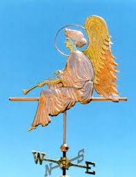 angel weathervanes