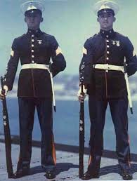navy blue uniform