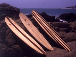 balsa wood surfboard