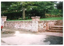 brick retaining walls