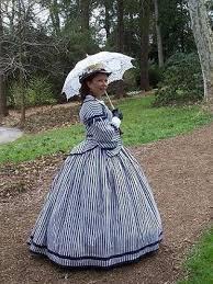 civil war era dresses