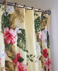 hawaiian curtain
