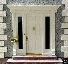 front house door