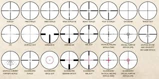 rifle scope reticles