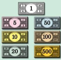 monopoly money to print
