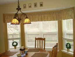 kitchen bay window curtains