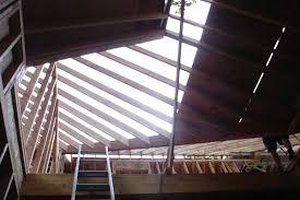 open rafters