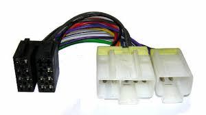 car audio iso connectors