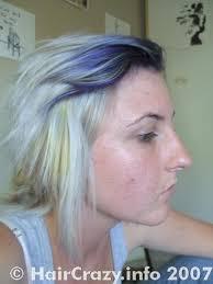 bleach hair white