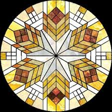 frank lloyd wright stained glass design