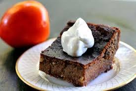 persimmon pudding