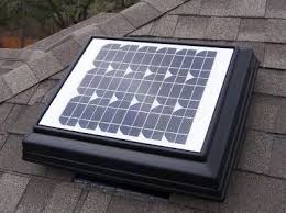 solar powered attic vents