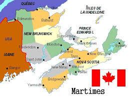 map maritimes