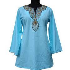 embroidered tunics