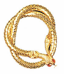 gold snake necklaces