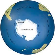 antarctica world map