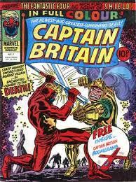 captain britain comic