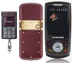 designer cell phone