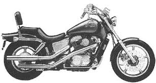 1988 honda shadow 1100