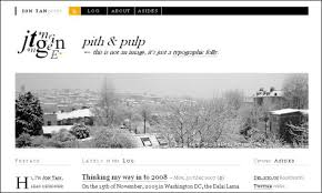 nice web site design