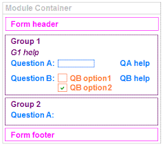 order form layout