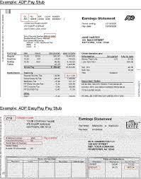 adp pay stub