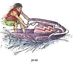 jet ski clipart