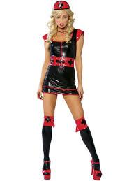 black nurse dress