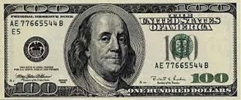 1985 100 dollar bill