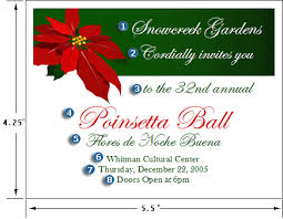 christmas invitation designs