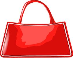 cartoon handbag