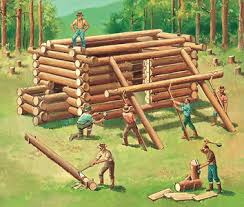 building log cabins
