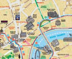 mapa turistico de londres
