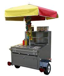 hot dogs stand