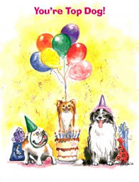 dog birthday cards