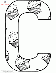 letter coloring
