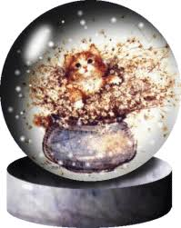 animated snow globe
