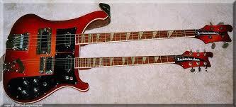 double neck bass guitar