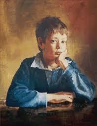 portrait oil paint