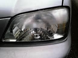 faded headlights