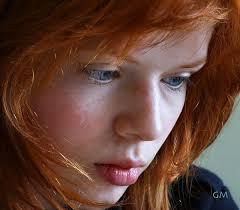 blue eye girl