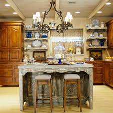 rustic kitchen islands