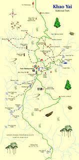 khao yai map