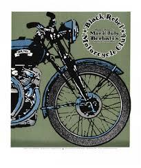 black rebel motorcycle club poster